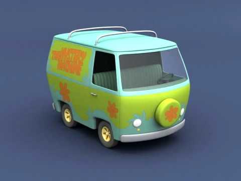 Images Of Mystery Machine Cake