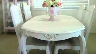 Lady Antoinette Shabby Chic Dining Room Suite