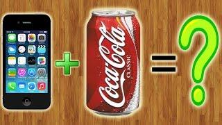 Что будет, если опустить копию iPhone в Coca-Cola??? (С продолжением)(, 2015-08-28T09:27:33.000Z)