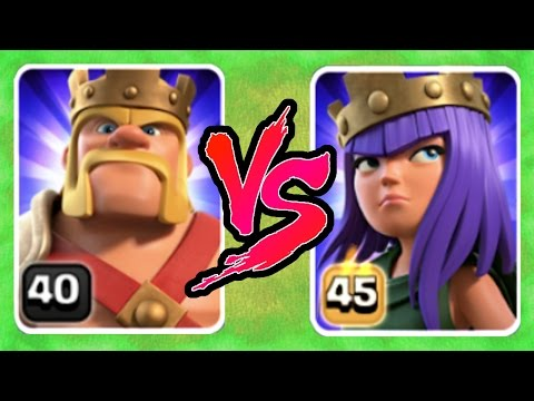 YOU'LL NEVER GUESS WHO WINS!! - LEVEL 45 vs LEVEL 40 HERO FIGHT! - Clash Of Clans