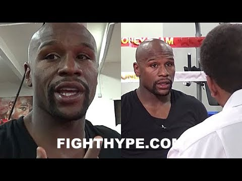 FLOYD MAYWEATHER GIVES BEHIND-THE-SCENES LOOK AT PROMOTING MEGA-FIGHT WITH CONOR MCGREGOR