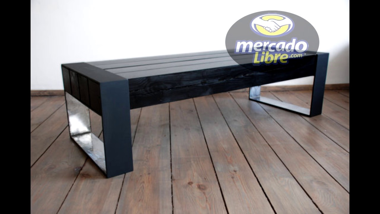 muebles de madera y metal youtube