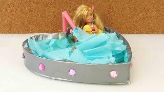 DIY Möbel - Badewanne für Barbie basteln