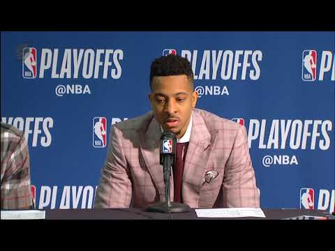Damian Lillard & CJ McCollum Postgame Press Conference After Game 4 Loss to New Orleans