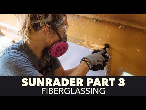 Toyota Sunrader 4x4 Build Part 3 - Fiberglassing