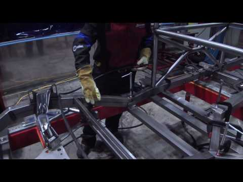 How to MIG Weld a Chassis Sub-Frame and Lower Clip