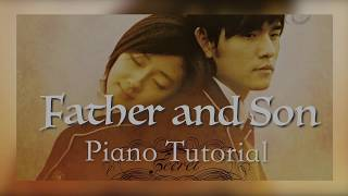 Father and son - Piano Tutorial