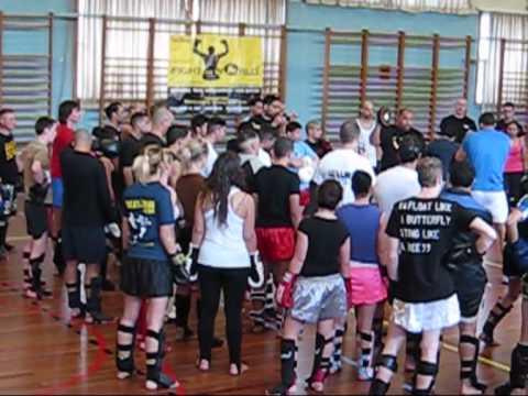 Badr Hari - seminar 24-4-'10 in Genk Belgium
