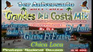 14.- Chica Loca - Gianna Ft Franky & La A.D.S Dj Audi - 1er Aniversario Grandes de la Costa Mix