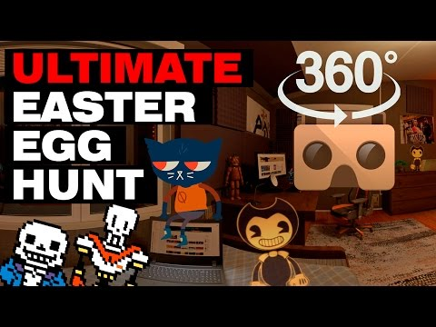 Easter Egg Hunt 360 (feat. Bendy, Tattletail, FNAF and more!)