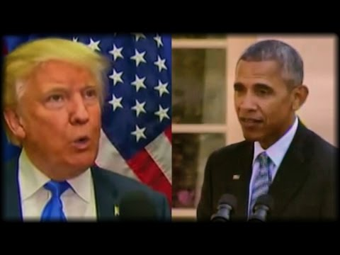AFTER OBAMA ATTACKED TRUMP TODAY, TRUMP PULLED OUT HIS SECRET WEAPON & SHOT BACK!