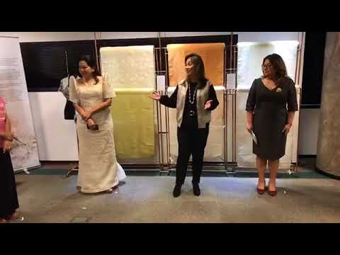 LOREN LEGARDA: Speech: Second Hibla ng Lahing Filipino Travelling Exhibition