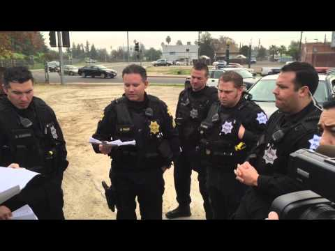 Gang sweep by Fresno police