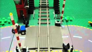 Lego Train Crossing - Extended Version