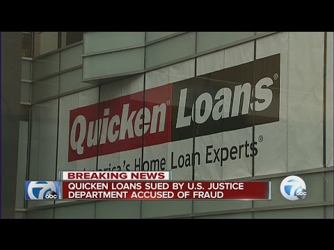 Quicken Loans sued for fraud by federal government