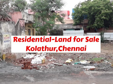 Residential Land For Sale At Kolathur, Chennai | World New Property