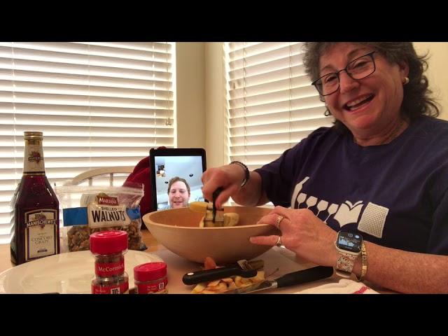 Make Charoset Chop Chop Chop