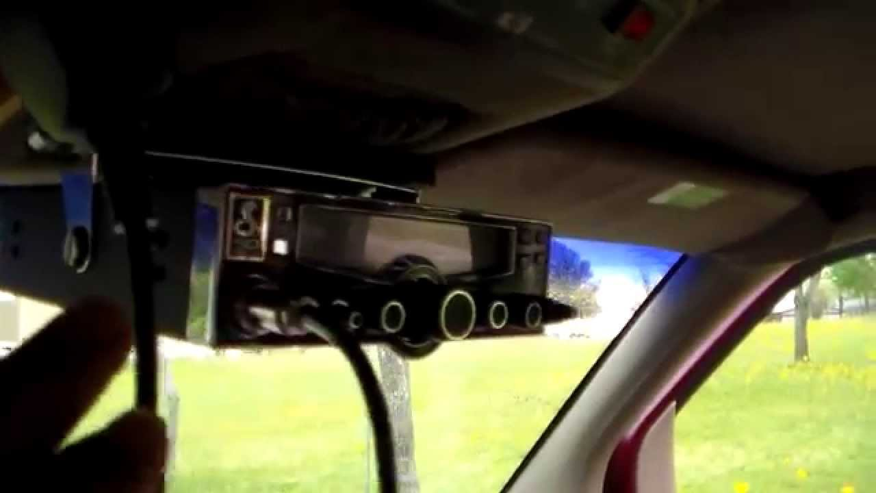 Mounting cb antenna on 1998 chevrolet van Part Two - YouTube