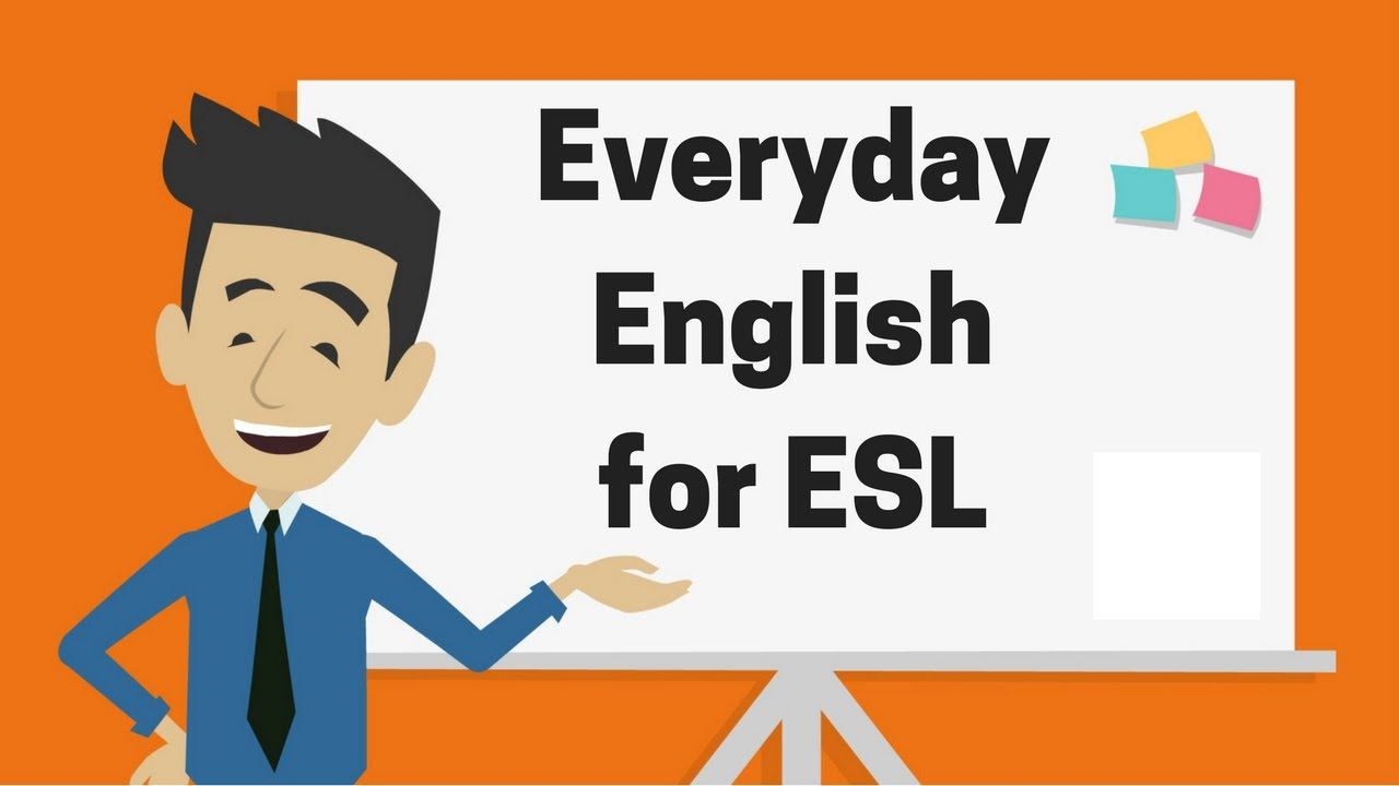 Everyday English for ESL — A Udemy English Course