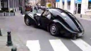 Bugatti Atlantic in Brussels by Free