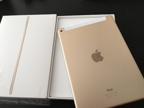 ipad-air-2-unboxing-and-quick-review-at&t-t-mobile-verizon-sprint-cellular-apple-sim-pay-gold-unlock