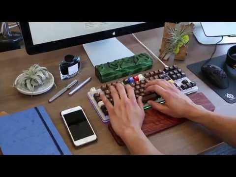 5df9424f8d0 Massdrop x Input Club K Type Mechanical Keyboard by Massdrop - YouTube