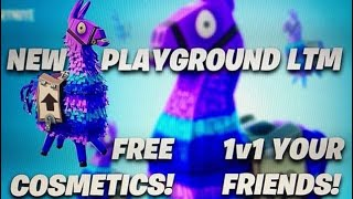 *NEW* PLAYGROUND LTM | FREE COSMETICS & GAME IMPROVEMENTS | Fortnite Battle Royale