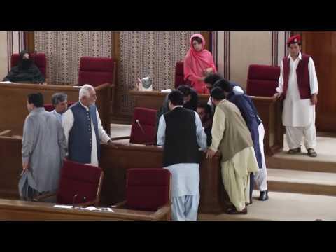At Balochistam Assembly Budget Session Mir Khalid Khan Langove Is Fighting Baloch Case