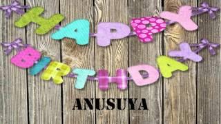 Anusuya   wishes Mensajes
