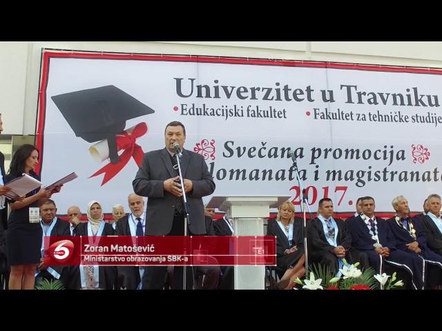 U Travniku promocija diplomanata i magistranata