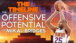 The Offensive Potential of Mikal Bridges (Phoenix Suns Analysis)