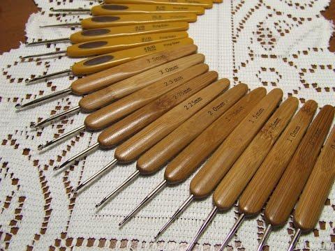 Крючки для вязания. Обзор посылки из Китая.
