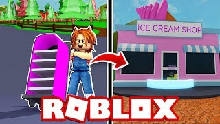 MY NOVIO TRIES TO ROB ME MY ICE SHOP in ROBLOX 😱