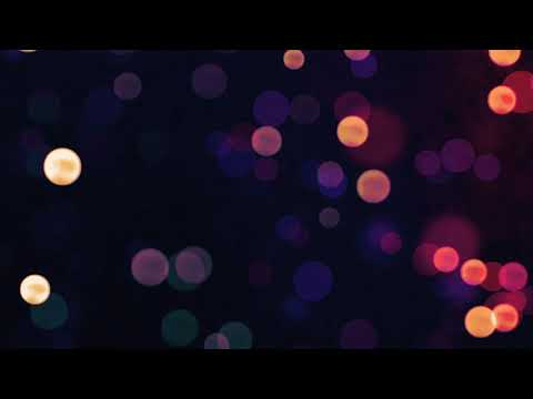Relaxing Bokeh Lights | Free Animation Loop Background