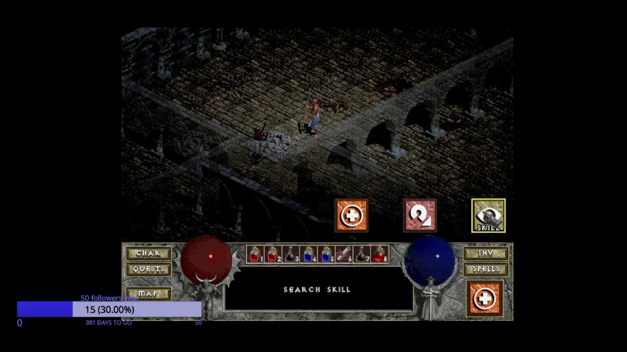 Diablo I Hellfire Monk Norm Part1 Youtube