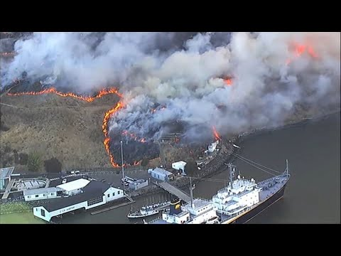 Is the Vallejo Fire Contained? Water Emergency Declared amid ...