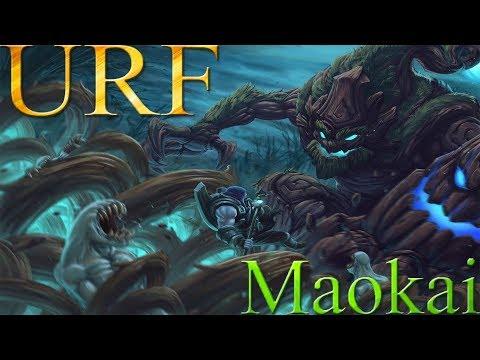 [URF] League of Legends   Maokai ~ 38000+ de daño yendo FULL TANQUE!   trascendencia +120AP gratis thumbnail