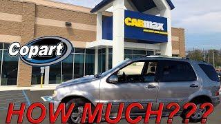 Can you Make MONEY Selling a COPART Car to CARMAX??