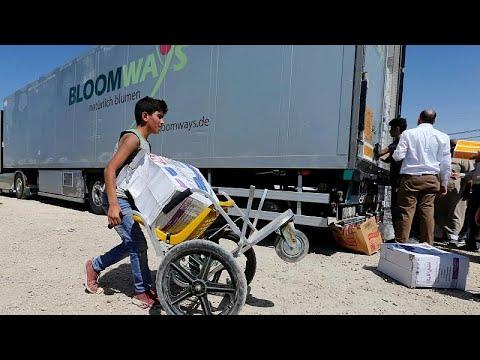 فرنسا ترسل مساعدات لمناطق تسيطر عليها الحكومة السورية  - نشر قبل 1 ساعة