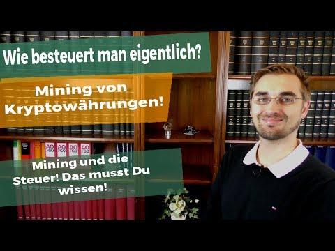 Bitcoin Mining! Besteuerung von Mining in Deutschland!