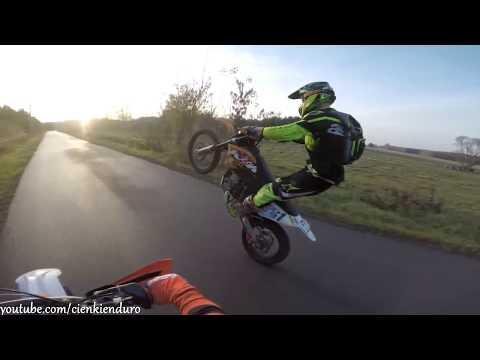 Enduro Pierwsze Motogodziny na 2T | KTM EXC 250 2t | cienki