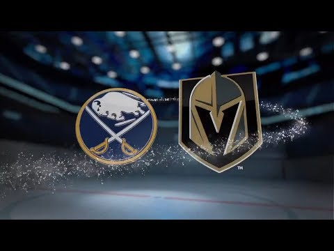 Buffalo Sabres vs Vegas Golden Knights - October 17, 2017 | Game Highlights | NHL 2017/18 Обзор