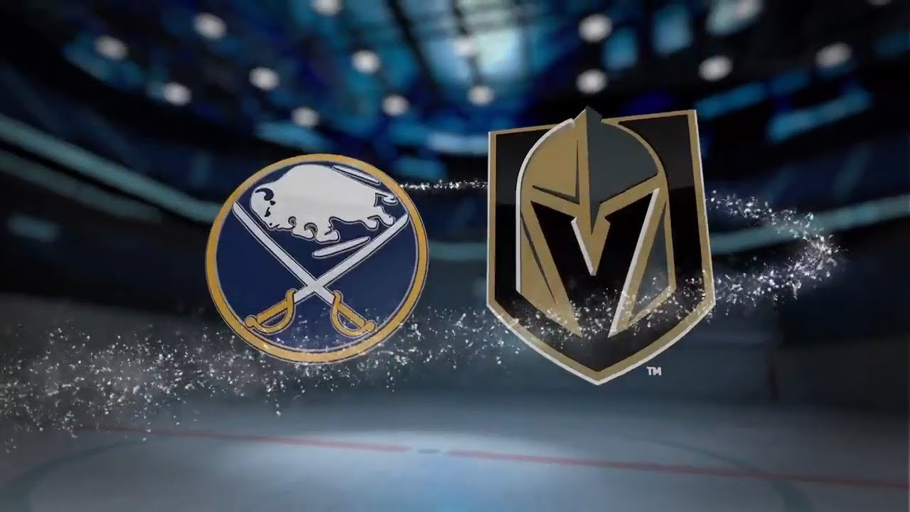 Image result for buffalo sabres vs vegas golden knights