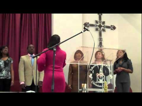 Tabernacle Of Praise Christian Church Choir Singing   Hold On Just a Little While Longer   Sunday 2 19 12