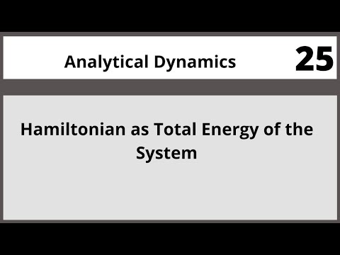Analytical Dynamics in Hindi Urdu MTH382 LECTURE 25