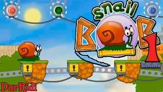 Флеш игра Улитка Боб 1 прохождение Snail Bob