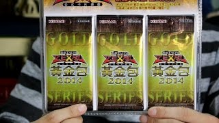 【遊戲王】2014 黃金包 GS06 來吧!神之卡!