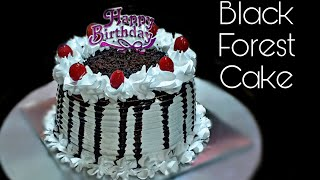 Black Forest cakeBlack Forest cake without oven