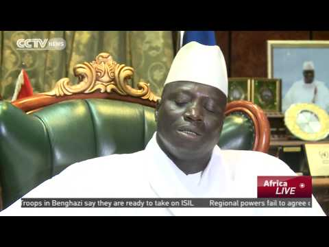 An Interview With Gambia's President On  The Ebola Outbreak