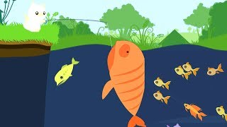 【小熙解说】小猫钓鱼 钓个鱼太好笑了吧大型打脸发疯现场 Cat Goes Fishing